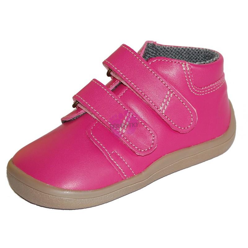 6c35c62120a Dětské kotníkové barefoot Beda-boty s membránou Janette