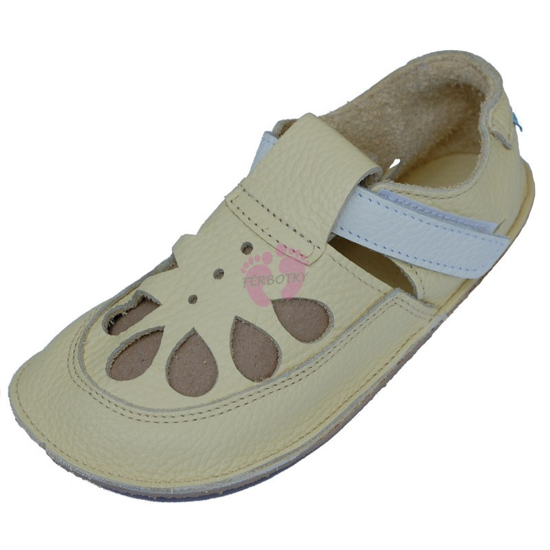 Baby Bare Shoes IO Canary - Summer Perforation