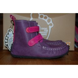 ZeaZoo YETI Purple with fuchsia in waterproof, sheepskin