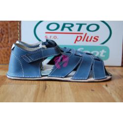 ORTOplus barefoot sandálky BF D201 (šíře H), modré