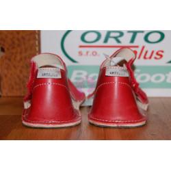 ORTOplus barefoot sandálky BF D203 (šíře G), červené