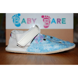 Baby Bare Shoes Top Stitch pohádková edice, Snowflakes