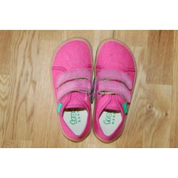 Barefoot tenisky Froddo - plátěné Fuchsia G1700270