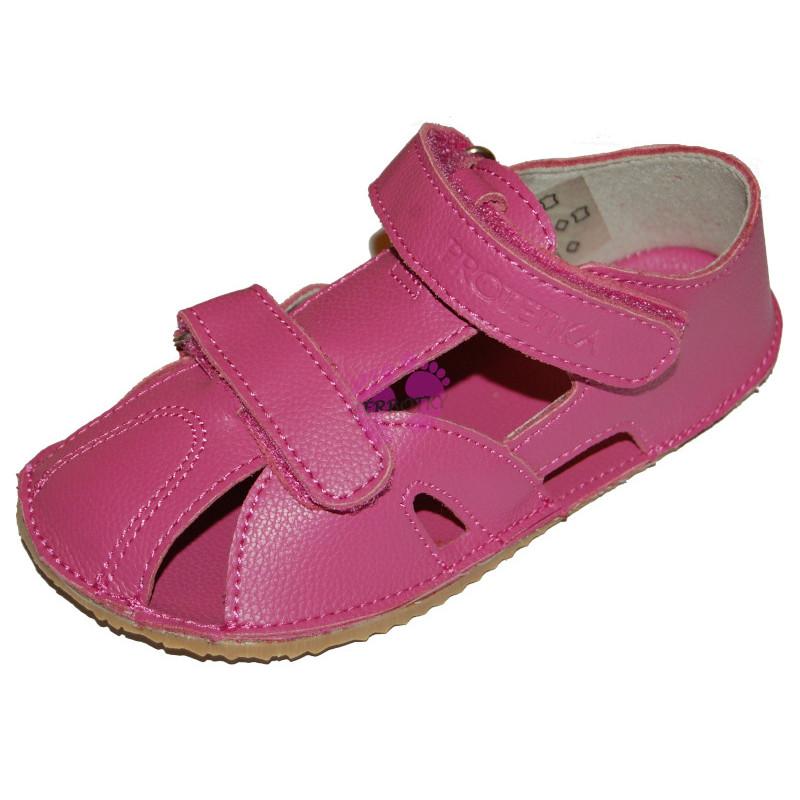 Protetika barefoot sandálky ZERO FUXIA