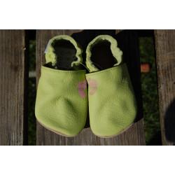 Barefoot baBice capáčky zelené, BA-051