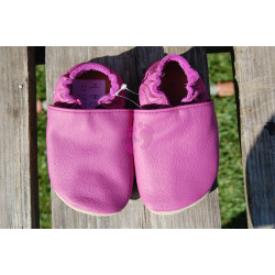 Barefoot baBice capáčky růžové, BA-054