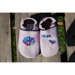 Barefoot baBice capáčky fialkové s chrpou EM-042