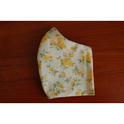 Látková rouška žluté kytky