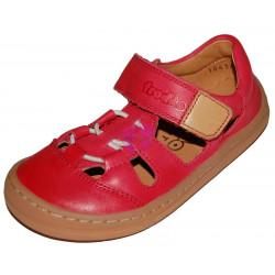 Froddo barefoot sandálky Red gumička G3150196-4