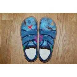 Froddo Barefoot tenisky - plátěné G1700302 DENIM