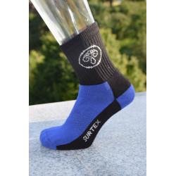 Surtex 80% merino dětské Aerobic ponožky modré