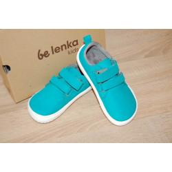 Dětské barefoot boty Be Lenka Jolly - Aqua Green