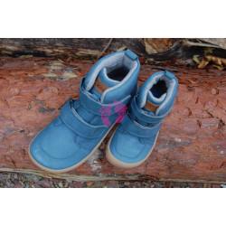 Zimní Barefoot Koel Hidro Warm - Turquoise (32-38), merino