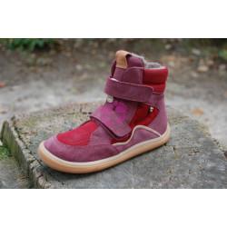Zimní Froddo barefoot G3160164-7 vyšší Bordeuax