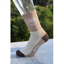 Surtex 80% merino dětské Aerobic ponožky hnědé