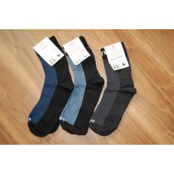 Surtex 80% merino ponožky pro dospělé, modrošedé