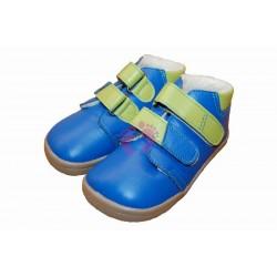 Zimní modré barefoot Beda-boty