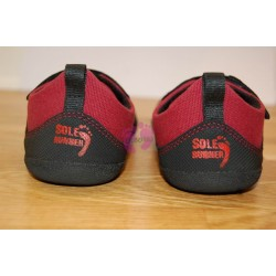 Sole Runner PUCK Red/Black paty