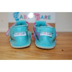 Baby Bare Shoes Flower Top Stitch zezadu