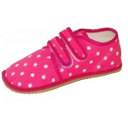 Beda barefoot růžové vycházkové tenisky